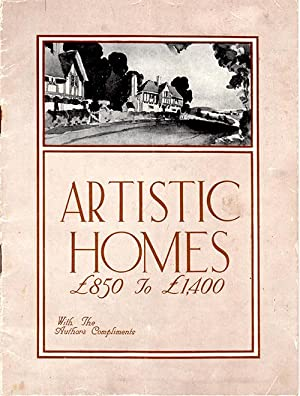 Artistic Homes ?: No Author Stated