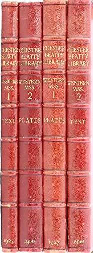 The Library of A. Chester Beatty. A Descriptive Catalogue of the Western Manuscripts.: Millar, Eric...