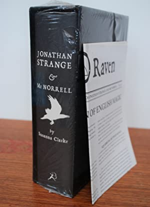 Jonathan Strange and Mr. Norrell - SIGNED SLIPCASED SPECIAL EDITION with promotional Daily Raven ...