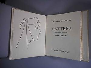 Lettres Portugaises: Matisse, Henri. Alcaforado,