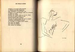 Dix Mille Aubes. Huit Dessins de Marc Chagall: Goll, Yvon et Claire