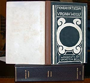 Monday or Tuesday. With Woodcuts by Vanessa: Woolf, Virginia