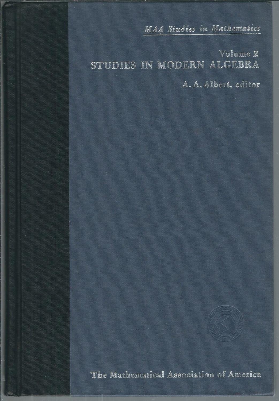 Studies in Mathematics: Volume 2 Studies in