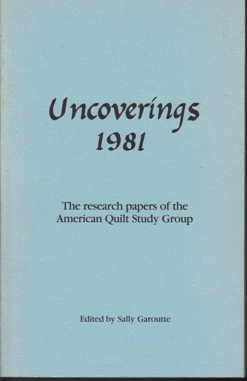 Uncoverings, 1981