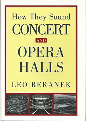 Concert and Opera Halls: How They Sound