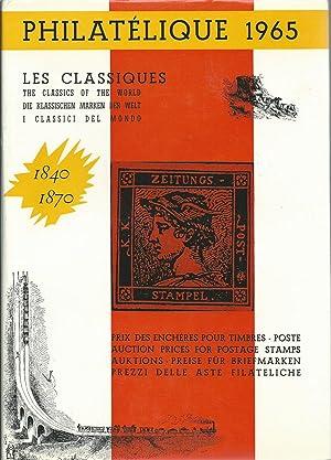 Philatélique 1965: Annual Postage Stamp Auction Records. Jahrbuch der Briefmarkenauktionen. ...