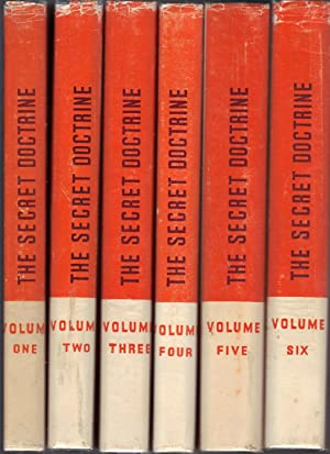 The Secret Doctirne: The Synthesis of Science, Religion and Philosophy - 6 Volume Set: Blavatsky, H...
