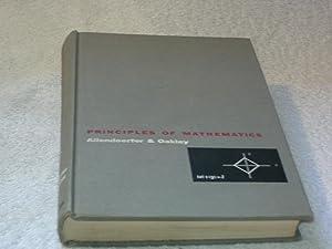 Principles of Mathmetics: C. B. Allendoefer, C. O. Oakley