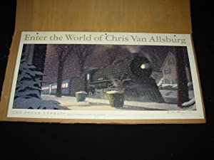 Polar Express Rare Signed Promotional Display Piece: Chris Van Allsburg