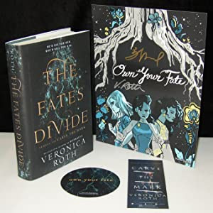 The Fates Divide (Carve the Mark) With Additional Signed Bonus Material.