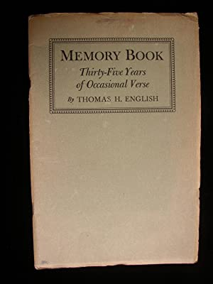Memory Book: Thirty-Five Years of Occasional Verse