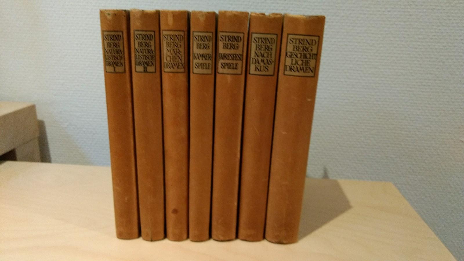 Ausgewählte Werke in 7 Bänden Band 1: Strindberg, August: