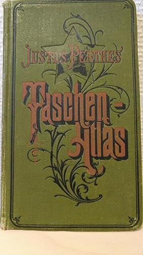 Justus Perthes' Taschen-Atlas. 24 kolorierte Karte in: Perthes, Justus: