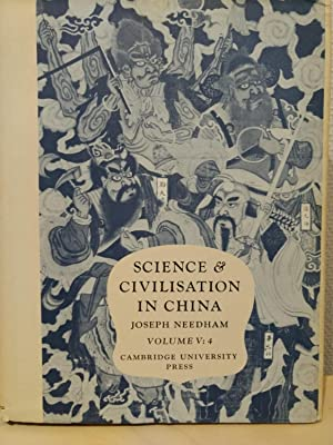 Science & Civilisation in China. Volume 4 - Chemistry and Chemical Technology: Spagyrical Discove...