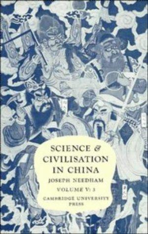 Science and Civilisation in China: Volume 5, Chemistry and Chemical Technology, Part 3, Spagyrica...