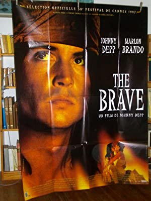 The Brave 1997 De Johnny Depp Affiche De Cinéma