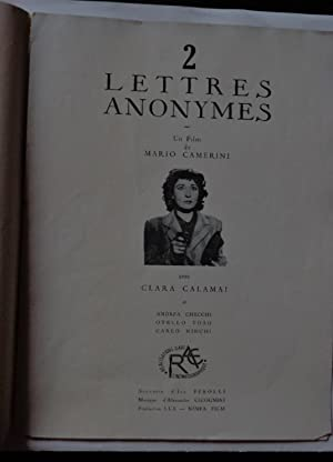 Synopsis Du Film Italien 2 Lettres Anonymes 1947