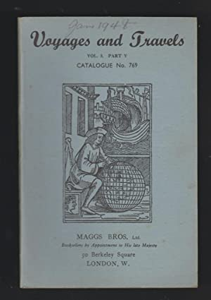 Voyages and Travels - Catalogue No. 769