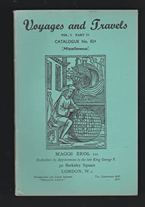 Voyages and Travels - Catalogue No. 824