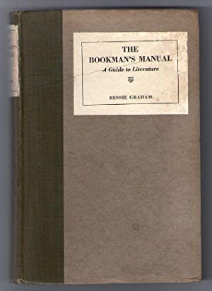 The Bookman's Manual - A Guide to Literature