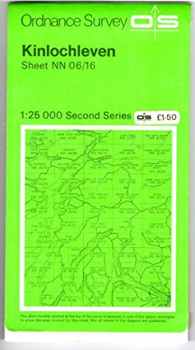 Kinlochleven - Ordnance Survey Second Series Sheet NN 06/16