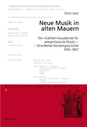 Neue Musik in alten Mauern Die «Gattiker-Hausabende für zeitgenössische Musik&raquo...