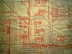 Map] Plano del Centro de la Ciudad de Mexico: Alcocer, Ignacio