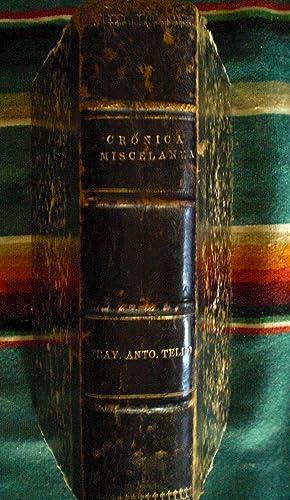 Libro Segundo de la Cronica Miscelanea, en que se trata de la Conquista Espiritual y Temporal de la...