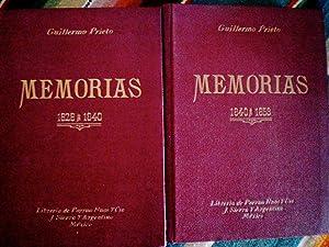 Memorias de mis Tiempos: Prieto, Guillermo