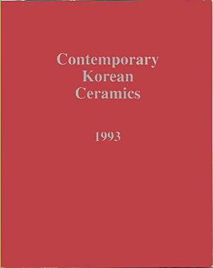 Contemporary Korean Ceramics 1993 : Survey of: Lawrence, Les, et