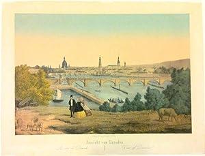Ansicht von Dresden.