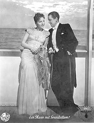 Ein Mann mit Grundsätzen? Standbild aus dem Film mit Hans Söhnker und Elfie Mayerhofer.