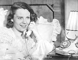 Meine Freundin Josefine. Standbild aus dem Film mit Hilde Krahl.