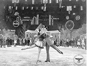 Der weisse Traum. Standbild aus dem Film mit Olly Holzmann, (Wolf Albach-Retty).