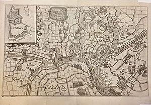 Isendyck, Ardenborch, Sluis, Casand. Karte der Belagerung von Sluis 1604.