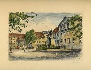 Göttingen - Wilhelmsplatz.