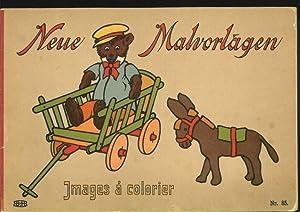 Neue Malvorlagen. Images à colorier.: Anonym: