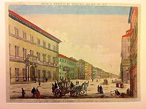 Vue du Palais Colonne di Sciarra à Rome.