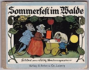 Sommerfest im Walde.: Baumgarten, Fritz: