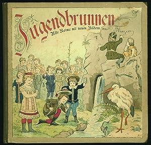 Jugendbrunnen. Alte Reime mit neuen Bildern von Theodor Flinzer.: Flinzer, Fedor: