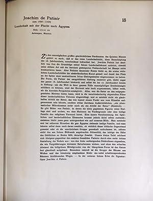 Album der Belgischen Galerien. 50 Meisterwerke der Museen zu Brüssel, Antwerpen, Brügge.:...