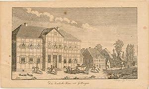 Das teutsche Haus vor Göttingen.: Grape, Heinrich: