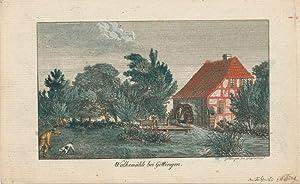 Die Walkemühle bei Göttingen.: Grape, Heinrich: