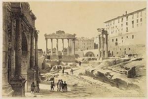 Rome. Rom. Forum Romanum, Capitol, Via Sacra .: Billmark, Carl Johan:
