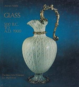 Glas von der Antike bis zum Jugendstil.: Saldern, Axel von: