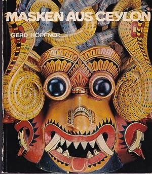 Masken aus Ceylon.: Höpfner, Gerd: