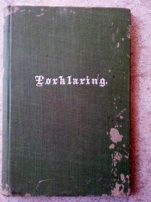 Forklaring Til De Enfoldiges Nytte: Pontoppidans, Erik