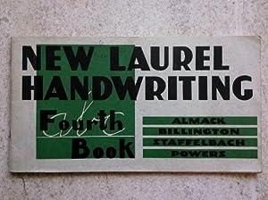 New Laurel Handwriting Fourth Book: Almack, John C.;
