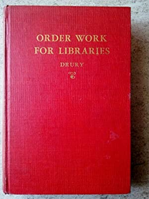 Order Work for Libraries