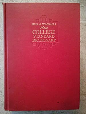Funk & Wagnalls New College Standard Dictionary